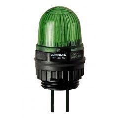 LED permanent EM 24VDC GN
