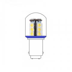 LED lamp BA15D 24VAC/DC blauw