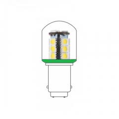 LED lamp BA15D 24VAC/DC groen