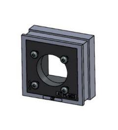 QT-AT-FL-M23 tule voor M23 connectoren, IP54, grijs
