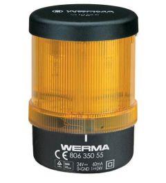LED lamp bewaakbaar BWM 24VDC YE