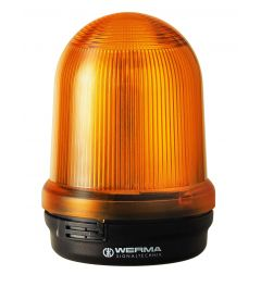 LED dubbel Flitslicht BM 115-230VAC YE
