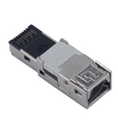 RJ45 connector male IDC 8 contacten
