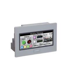 "3.8"" PLC+HMI 14 I/O kleur 65K grijs"