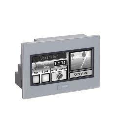 """3.7"""" PLC+HMI 12 I/O monochroom grijs"""