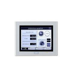 """Touchscreen 5.7"""" Monochroom (zilver)"""