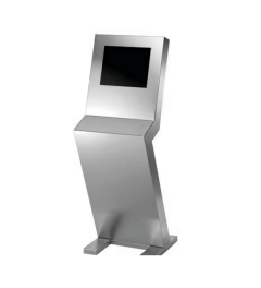 CS console control box Z-shape fixed