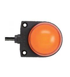LH1D spider led dome 37mm oranje 1m kabel