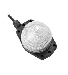 LH1D spider led jumbo dome 66mm oranje connector
