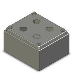 Drukknopkast 130mm 150mm D.85mm 4 gaten M22