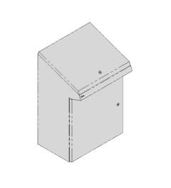 QP lectern 600x950x400mm AISI304