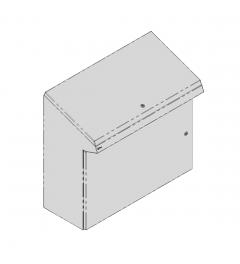 QP lectern 1000x950x400mm AISI304