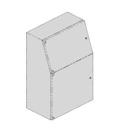 QP lectern 600x1200x500mm AISI304